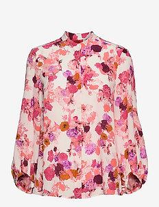 RAUL - blouses met lange mouwen - beige pattern