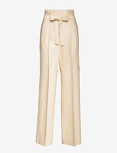 PAZIENTE - broeken med straight ben - ivory