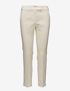 PALAGANO - slim fit bukser - ivory