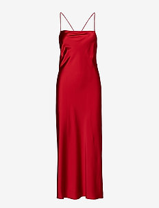PAPAVERO - festklänningar - burgundy
