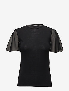 POMEZIA - basic t-shirts - black