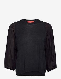 PROFETA - bluzki z długimi rękawami - navy blue