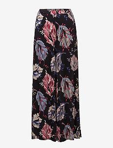 PLETTRO - vide bukser - black pattern