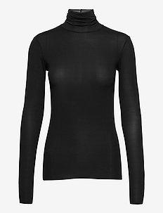 PRIMIZIA - tops met lange mouwen - black