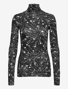PRIMIZIA - tops met lange mouwen - black pattern