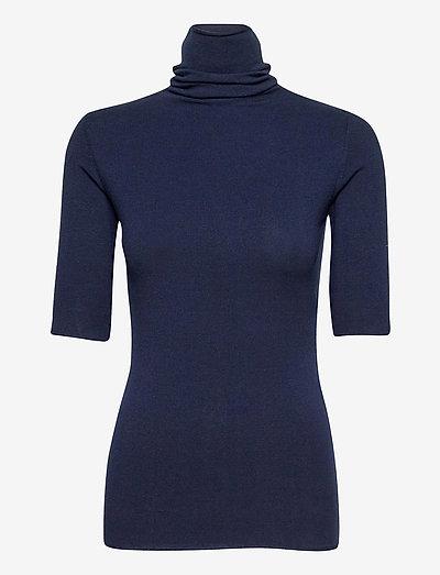 DADO - gebreide t-shirts - lyra blue