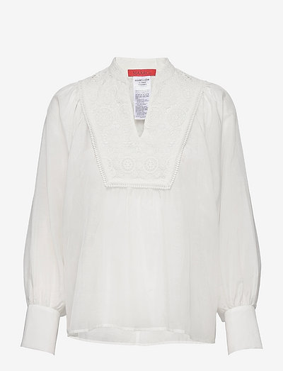 ALBENGA - blouses met lange mouwen - ivory