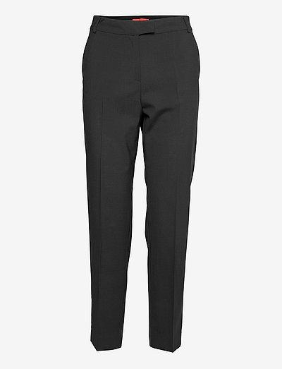 DORIA - broeken med straight ben - black