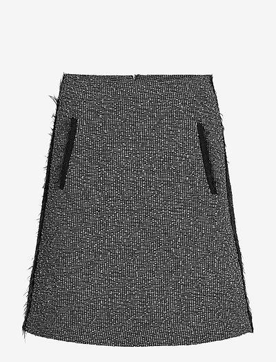 CUSPIDE - korte rokken - medium grey pattern
