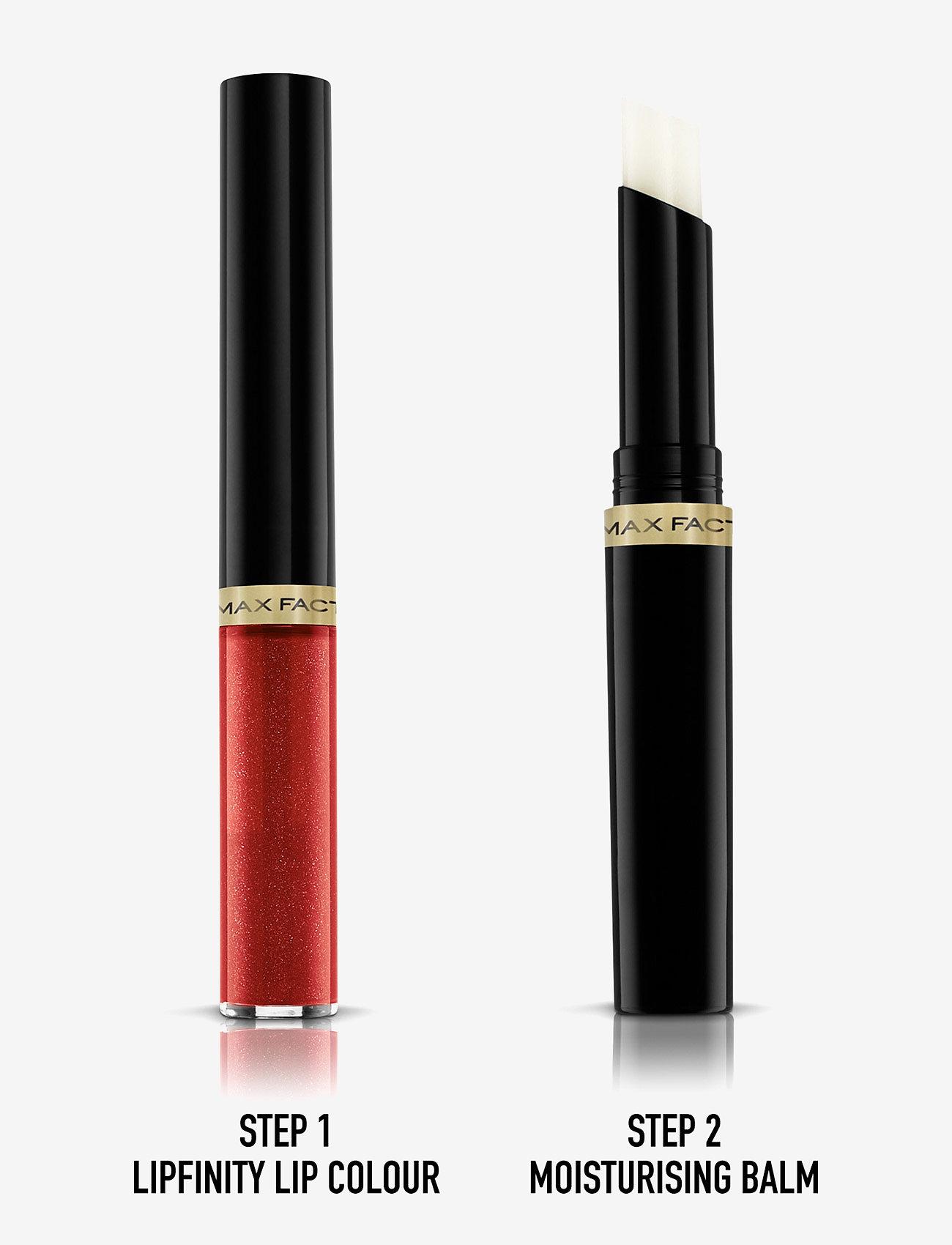 Max Factor - LIPFINITY 120 HOT - liquid lipstick - 120 hot - 1