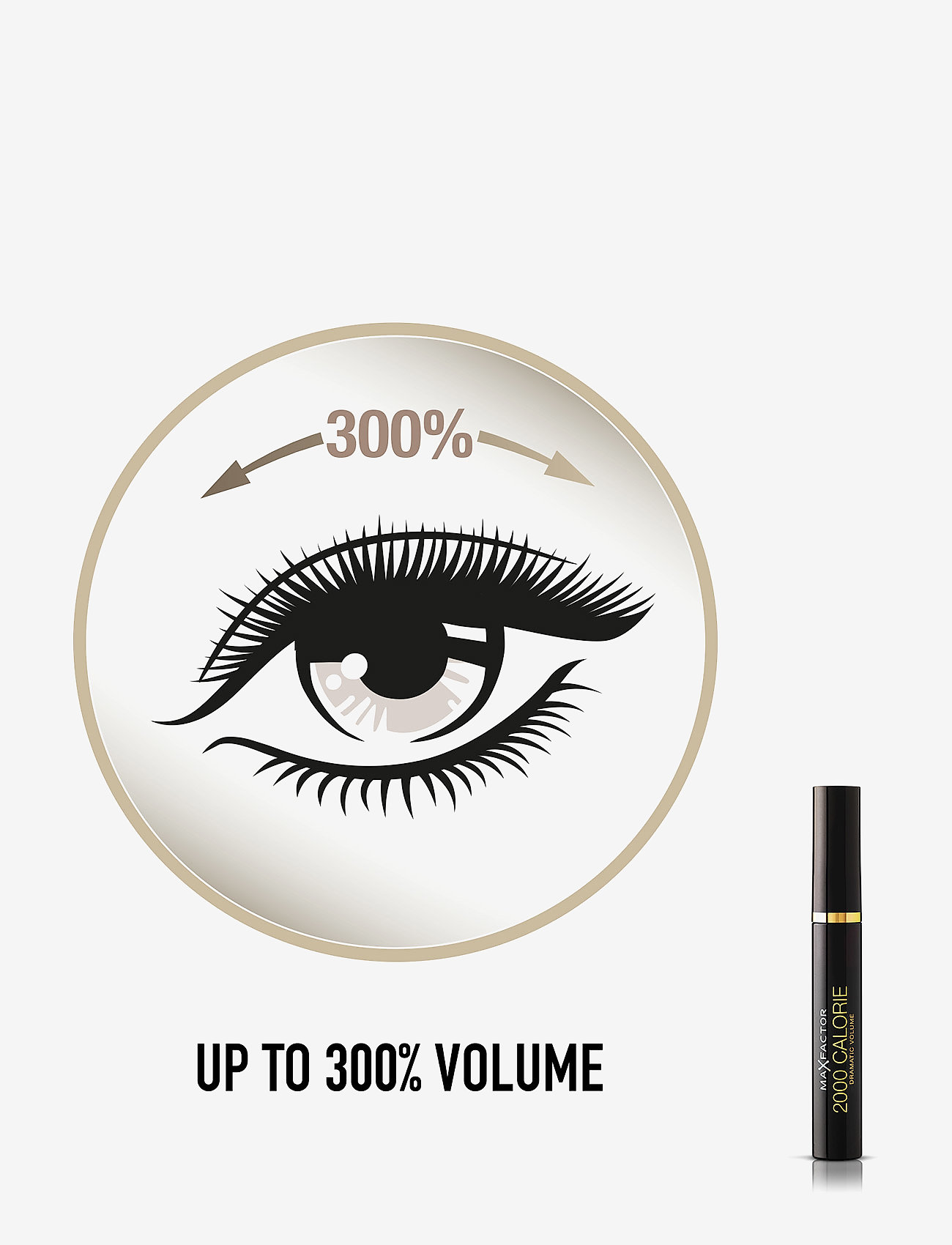 Max Factor - 2000 CALORIE MASCARA 001BLACK - mascara - 001 black - 1