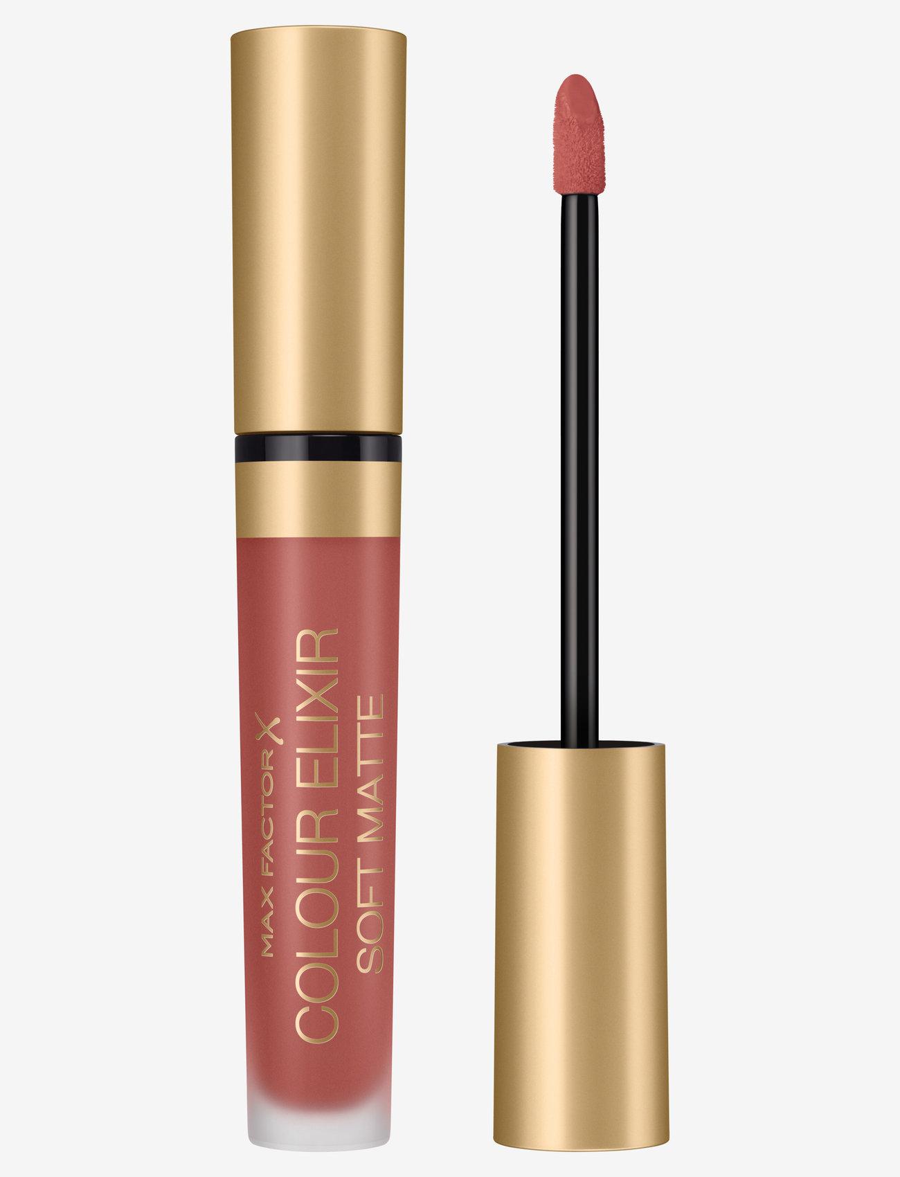 Max Factor - Color Elixir Soft Matte Lipstick 10 Muted Russet - läppstift - 10 muted russet - 0