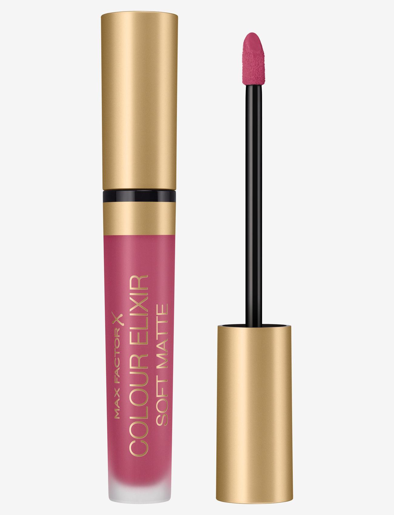 Max Factor - Color Elixir Soft Matte Lipstick 20 Blushing Peony - läppstift - 20 blushing peony - 0