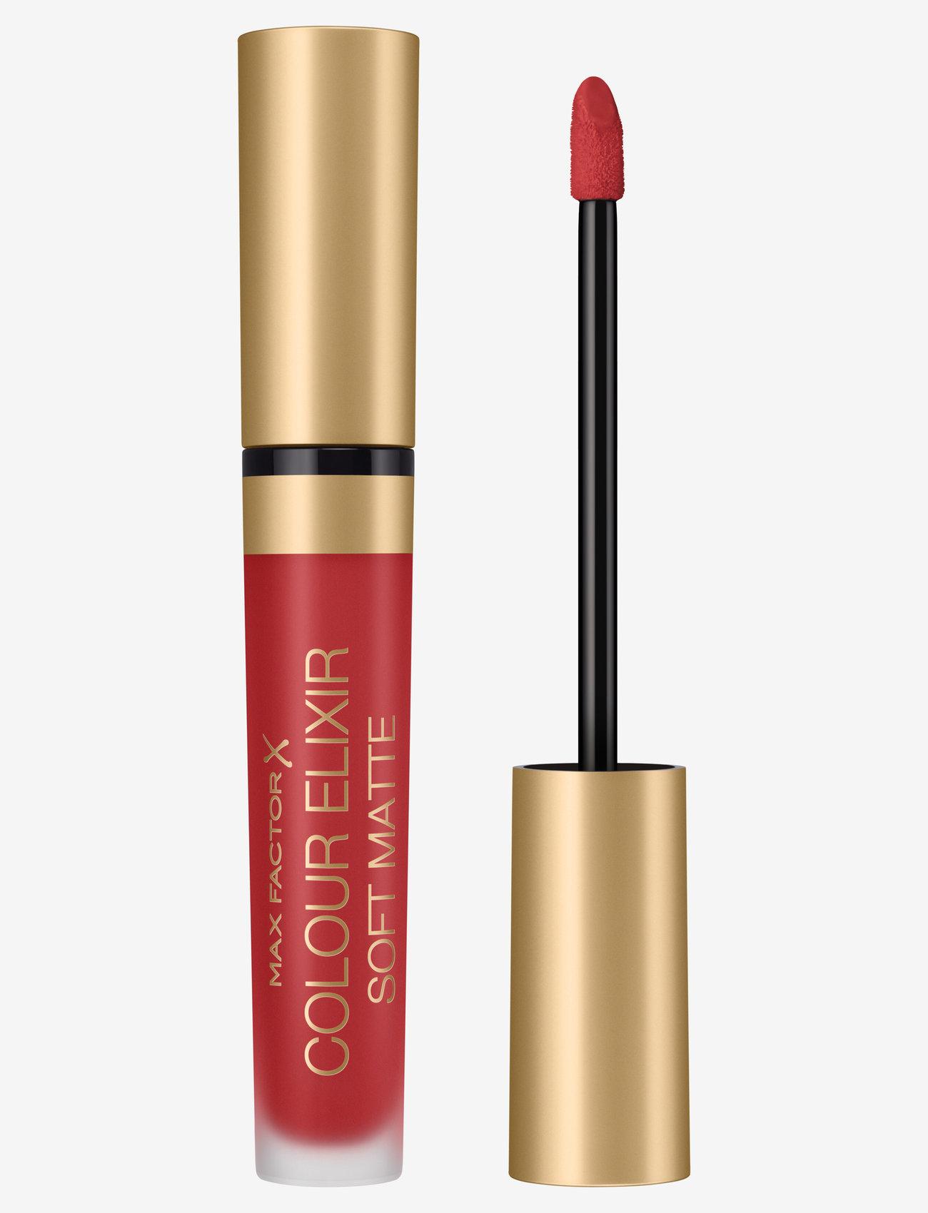 Max Factor - Color Elixir Soft Matte Lipstick 30 Crushed Ruby - läppstift - 30 crushed ruby - 0