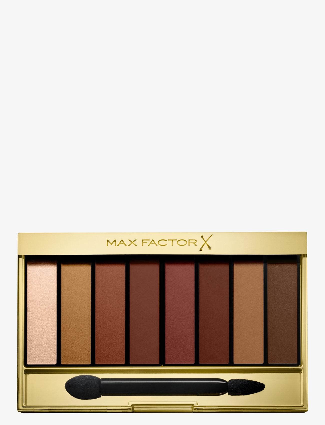 Max Factor - Masterpiece Nude Palette Eyeshadow 07 Matte Sunset - Ögonskuggspalett - 07 matte sunset - 0