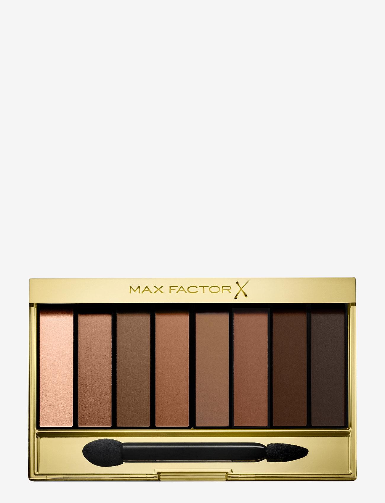 Max Factor - Masterpiece Nude Palette Eye Shadow 08 Matte Sands - Ögonskuggspalett - 08 matte sands - 0