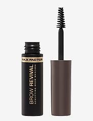 Max Factor - BROW REVIVAL 005 BLACK BROWN - Ögonbrynsgel - 005 black brown - 0
