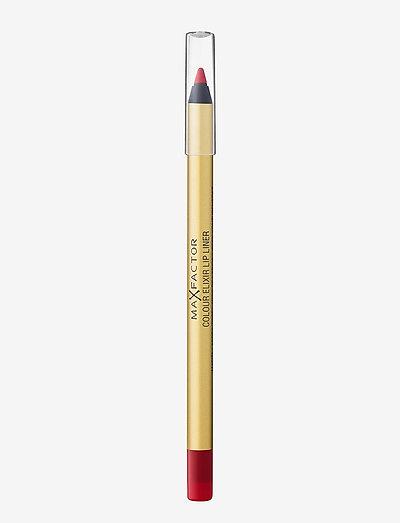 COLOUR ELIXIR LIPLINER 10 RED RUSH - huultenrajauskynä - 10 red rush