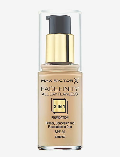 ALL DAY FLAWLES 3IN1 FOUNDATION 060 SAND - meikkivoide - 060 sand
