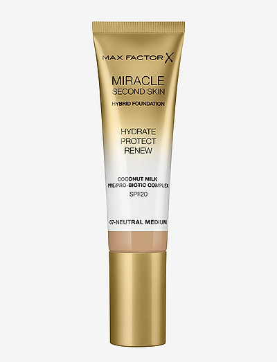 MIRACLE TOUCH SECOND FOUNDATION - foundation - 07 neutral medium