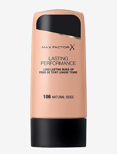LASTING PERFORMANCE FOUNDATION 106 NATURAL BEIGE - foundation - 106 natural beige