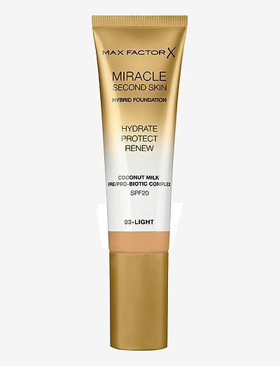 Miracle Second Skin Foundation 003 Light - foundation - 003 light