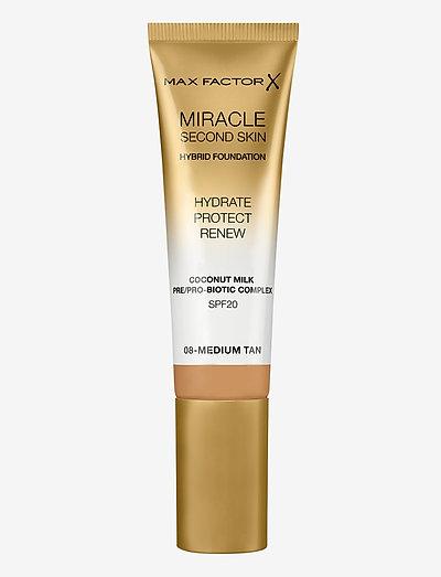 Miracle Second Skin Foundation 008 Medium Tan - foundation - 008 medium tan