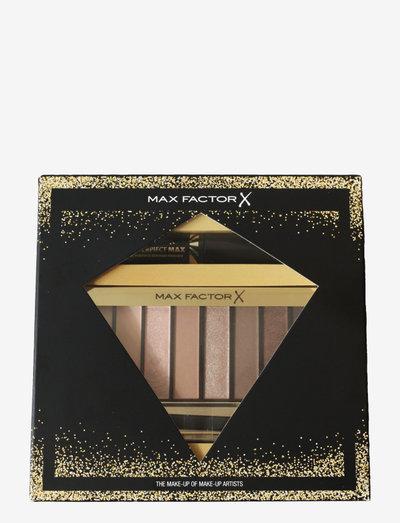 Xmas Box Nude Palette & Mini Masterpiece Max Mascara - Ögonskuggspalett - no colour