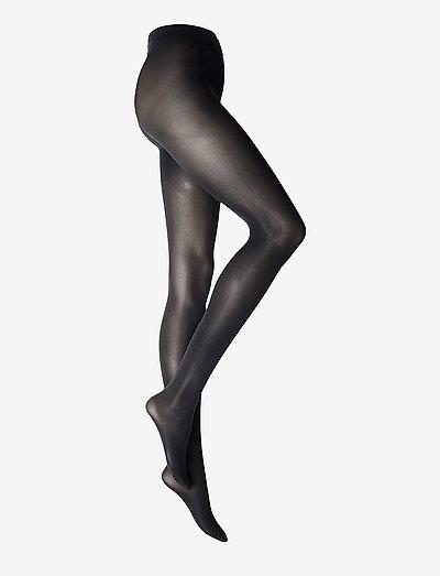 LISBONA - basic pantyhose - navy blue