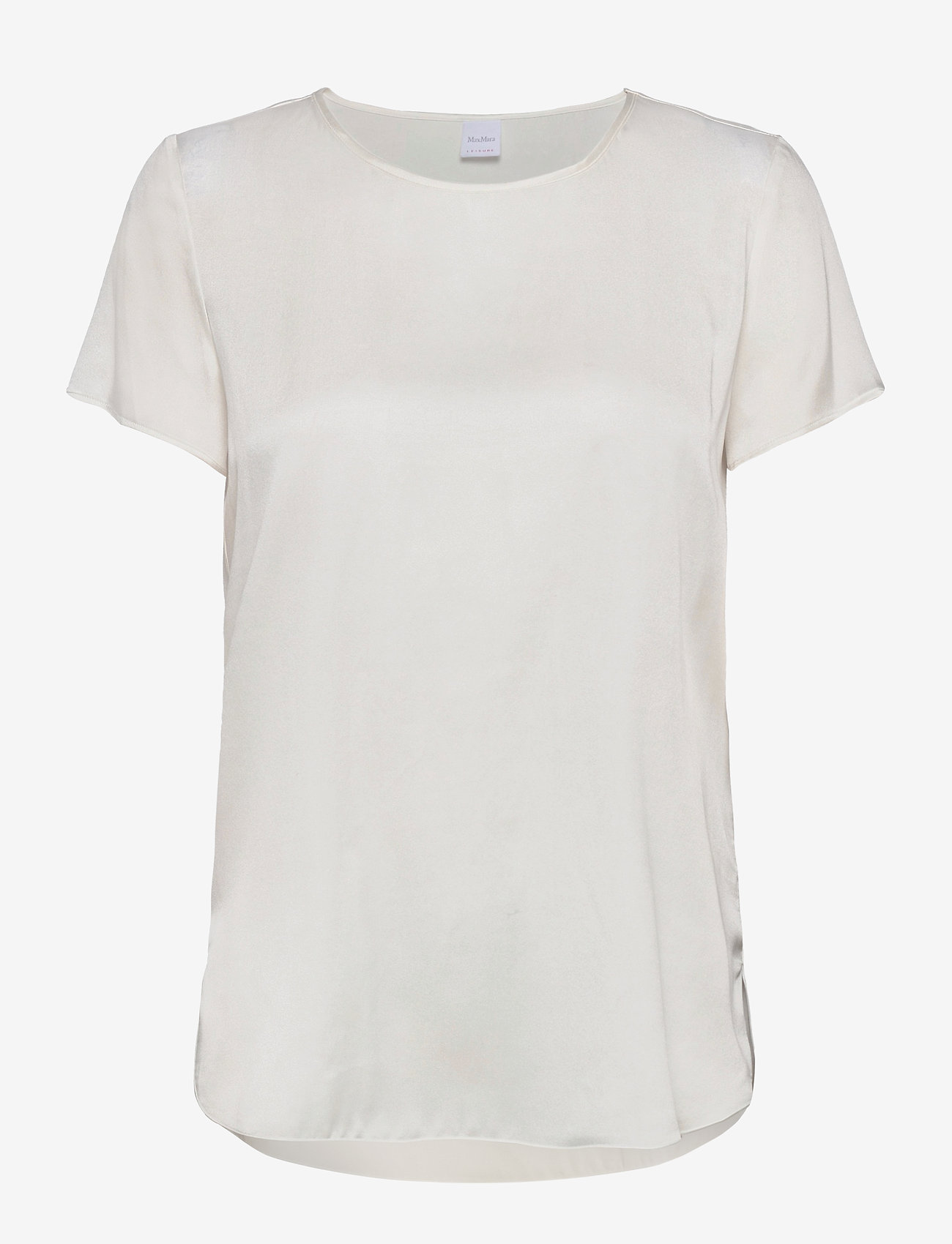Max Mara Leisure - CORTONA - short-sleeved blouses - white - 0