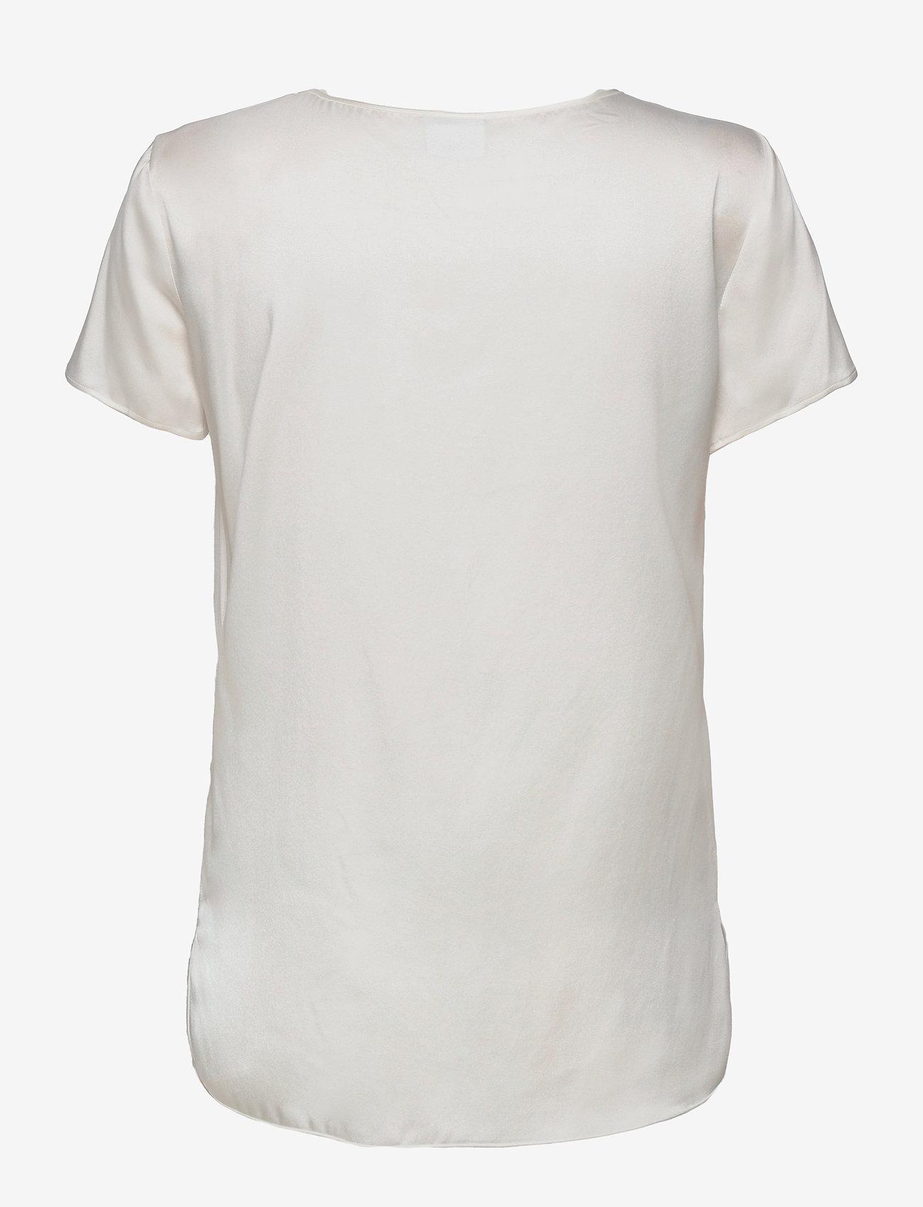Max Mara Leisure - CORTONA - short-sleeved blouses - white - 1