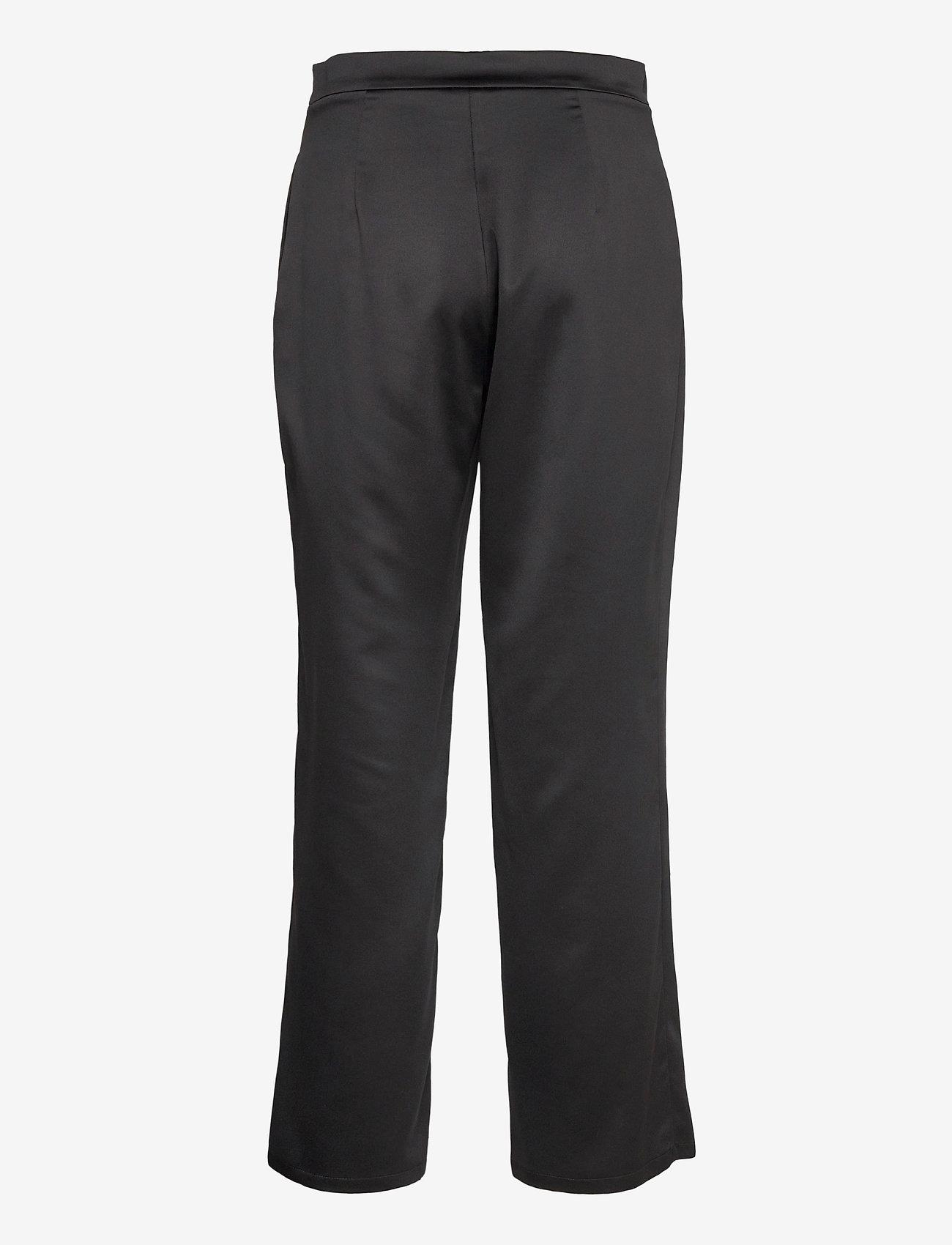 Max Mara Leisure - ENFASI - straight leg trousers - black - 1