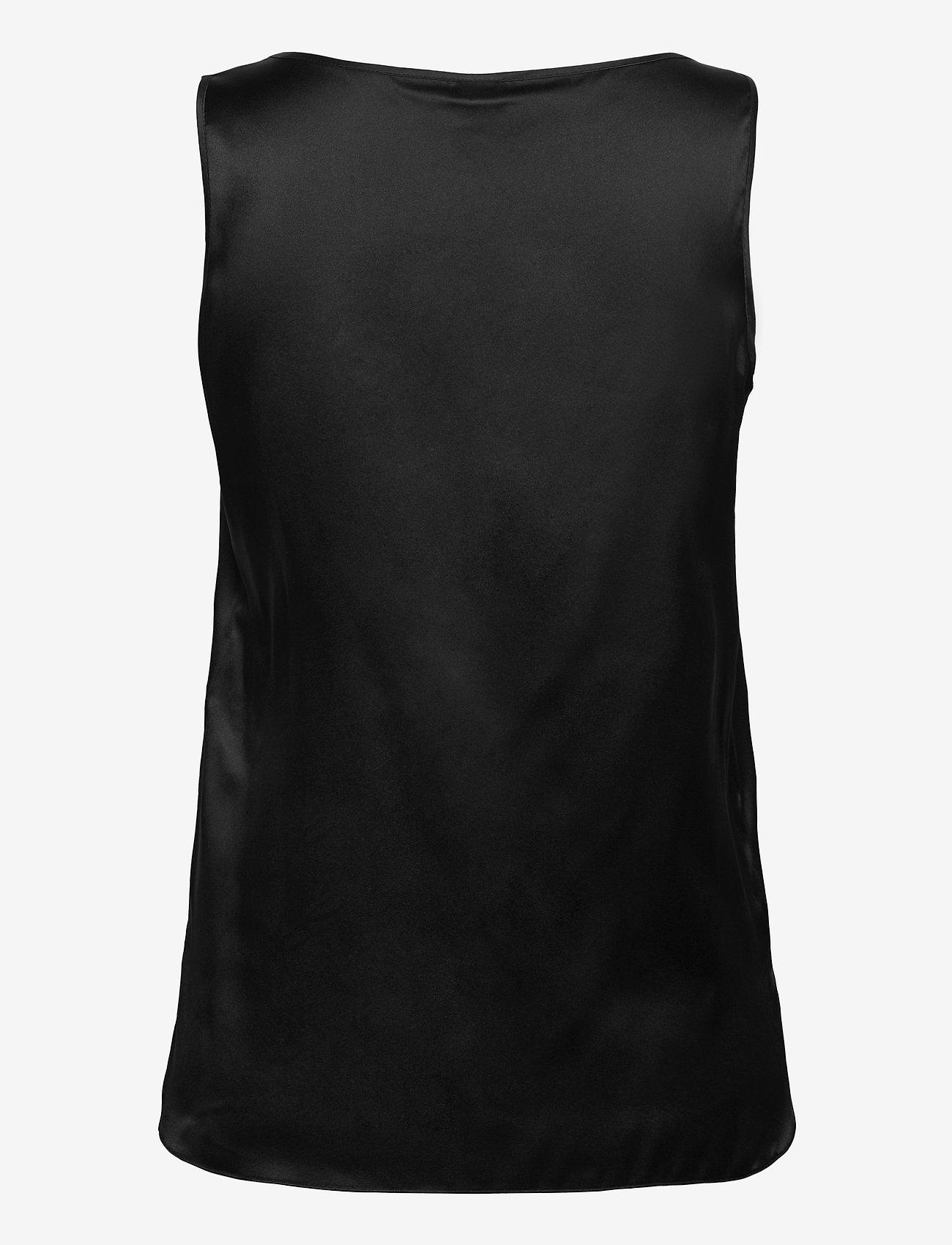 Max Mara Leisure - PAN - sleeveless blouses - black - 1