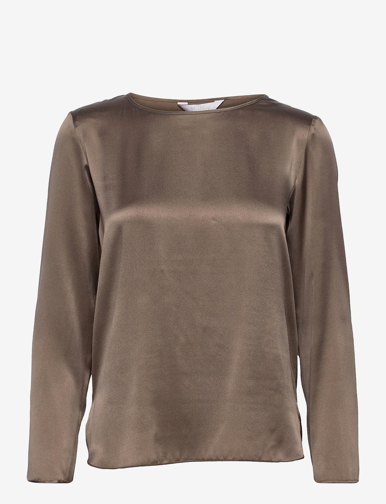 Max Mara Leisure - MOLDAVA - long sleeved blouses - turtledove - 0
