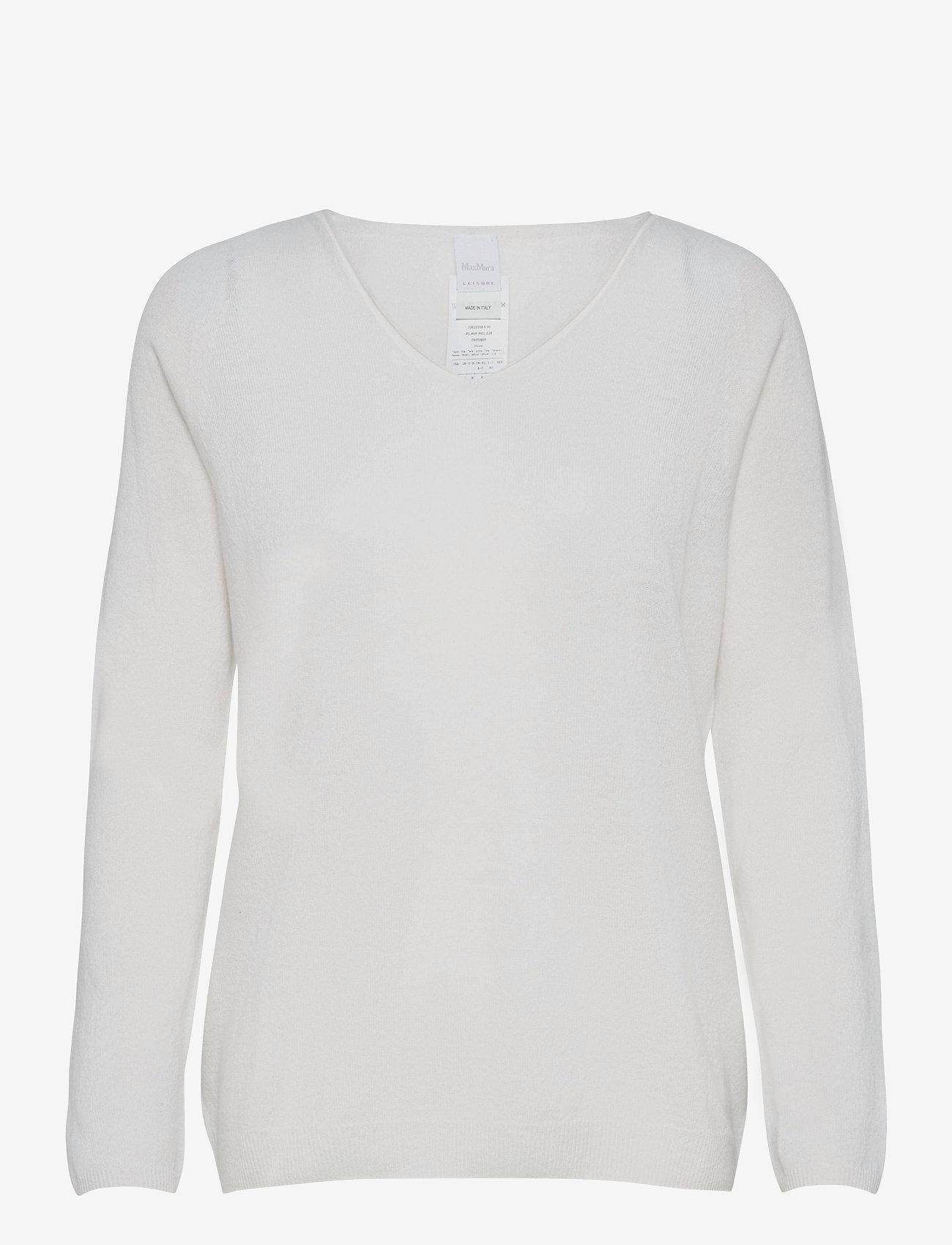 Max Mara Leisure - SMIRNE - sweaters - white - 0