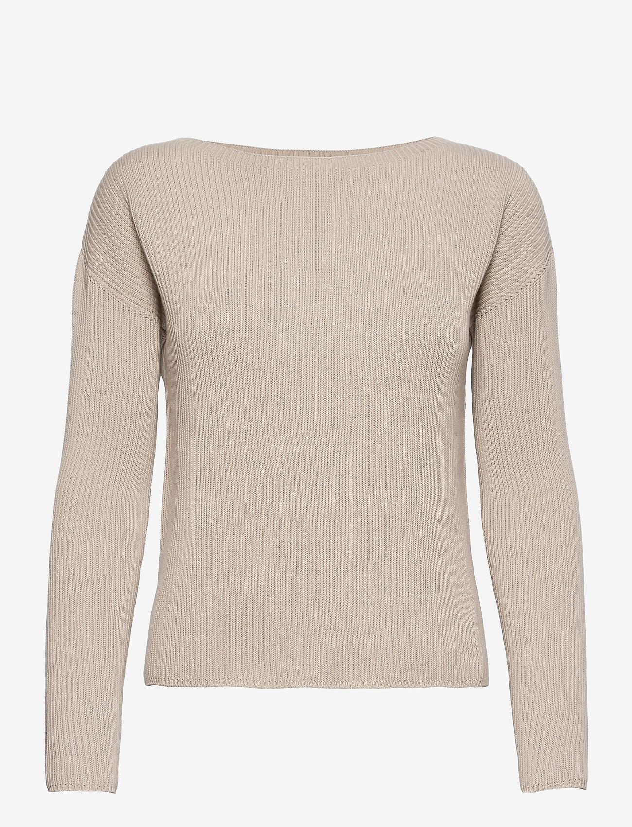 Max Mara Leisure - CIRO - sweaters - beige - 0
