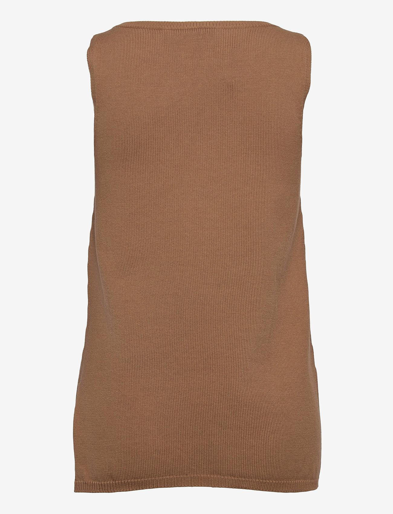 Max Mara Leisure - NASTIE - knitted vests - beige - 1