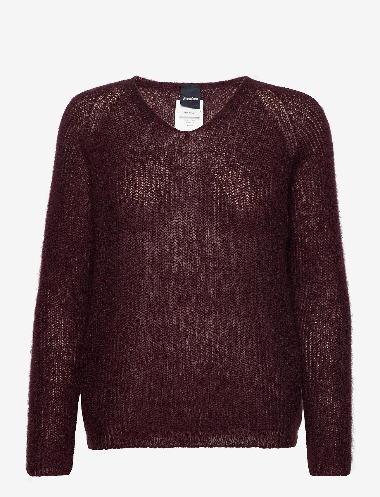 Max Mara Leisure - NORD - pullover - wine-coloured - 0