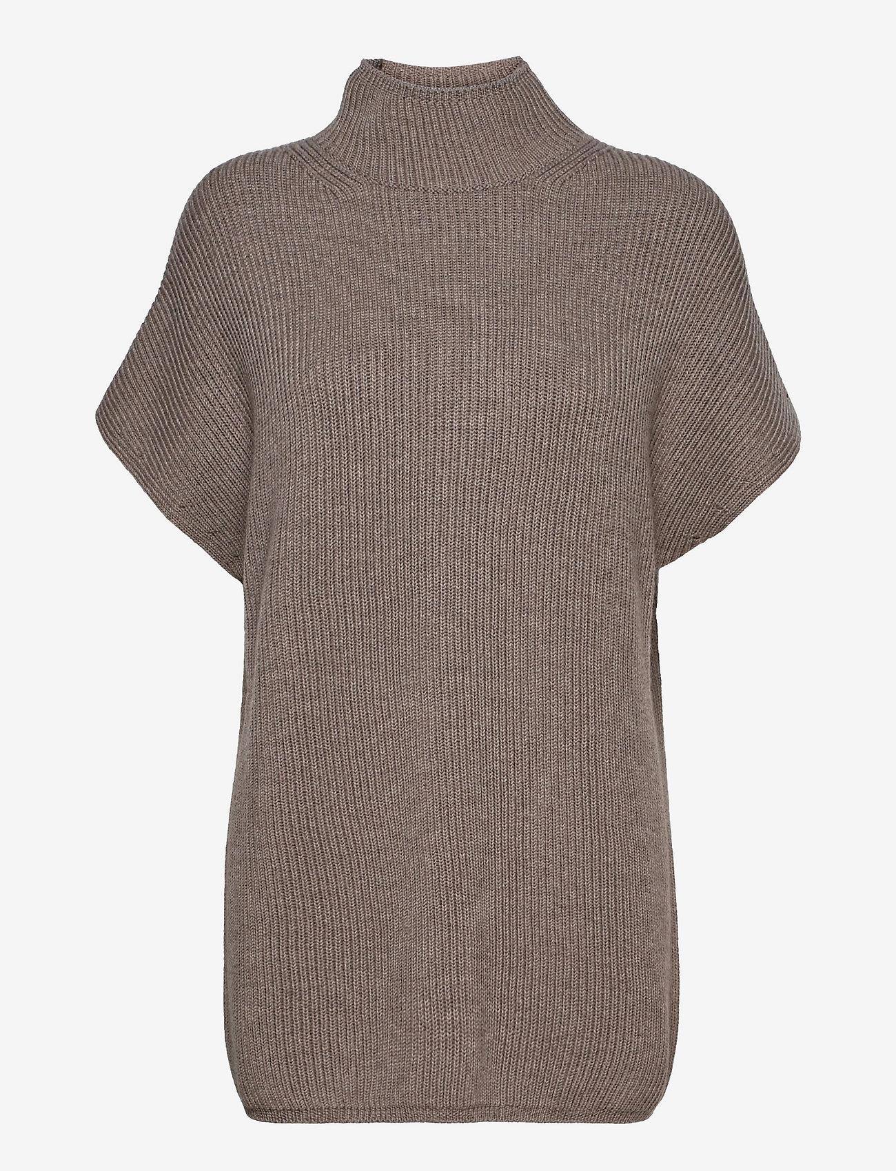 Max Mara Leisure - OBLATO - knitted dresses - turtledove - 0