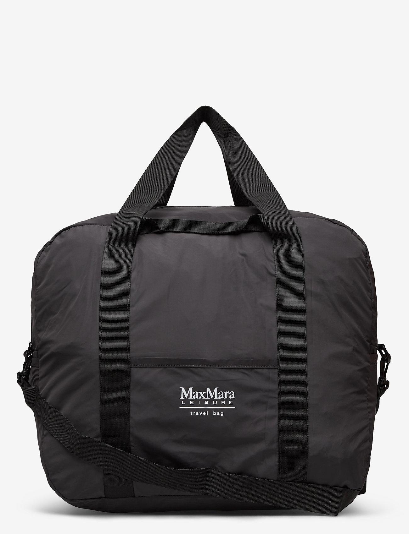 Max Mara Leisure - NARVA - torby podróżne i torby gimnastyczne - dark grey - 0