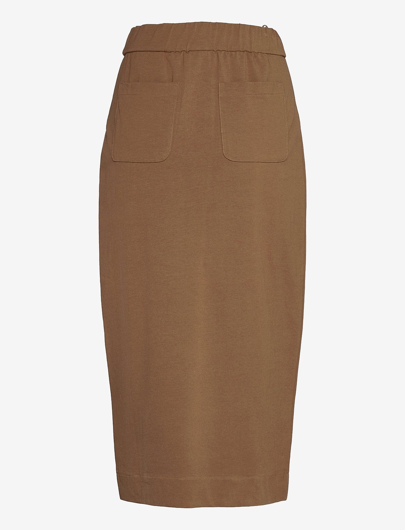 Max Mara Leisure - ELVY - midi skirts - golden green brown - 1