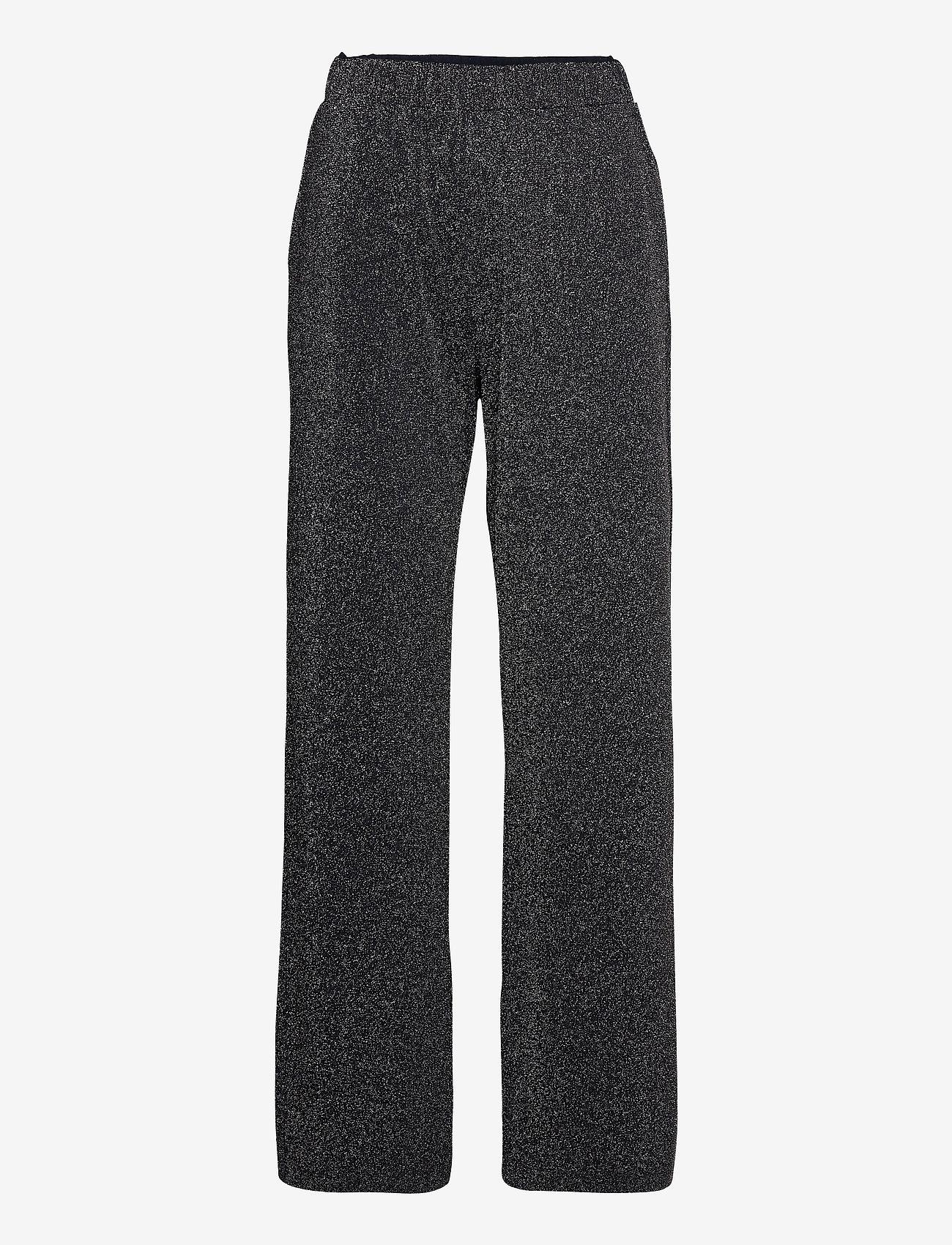 Max Mara Leisure - PALMIRA - wide leg trousers - navy - 0