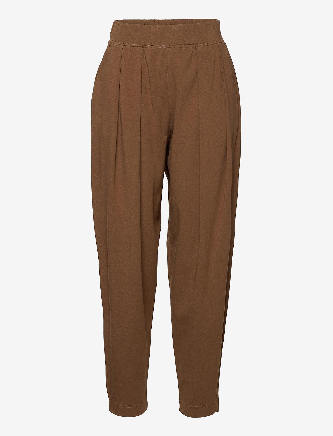 Max Mara Leisure - PIERA - casual trousers - golden green brown - 0