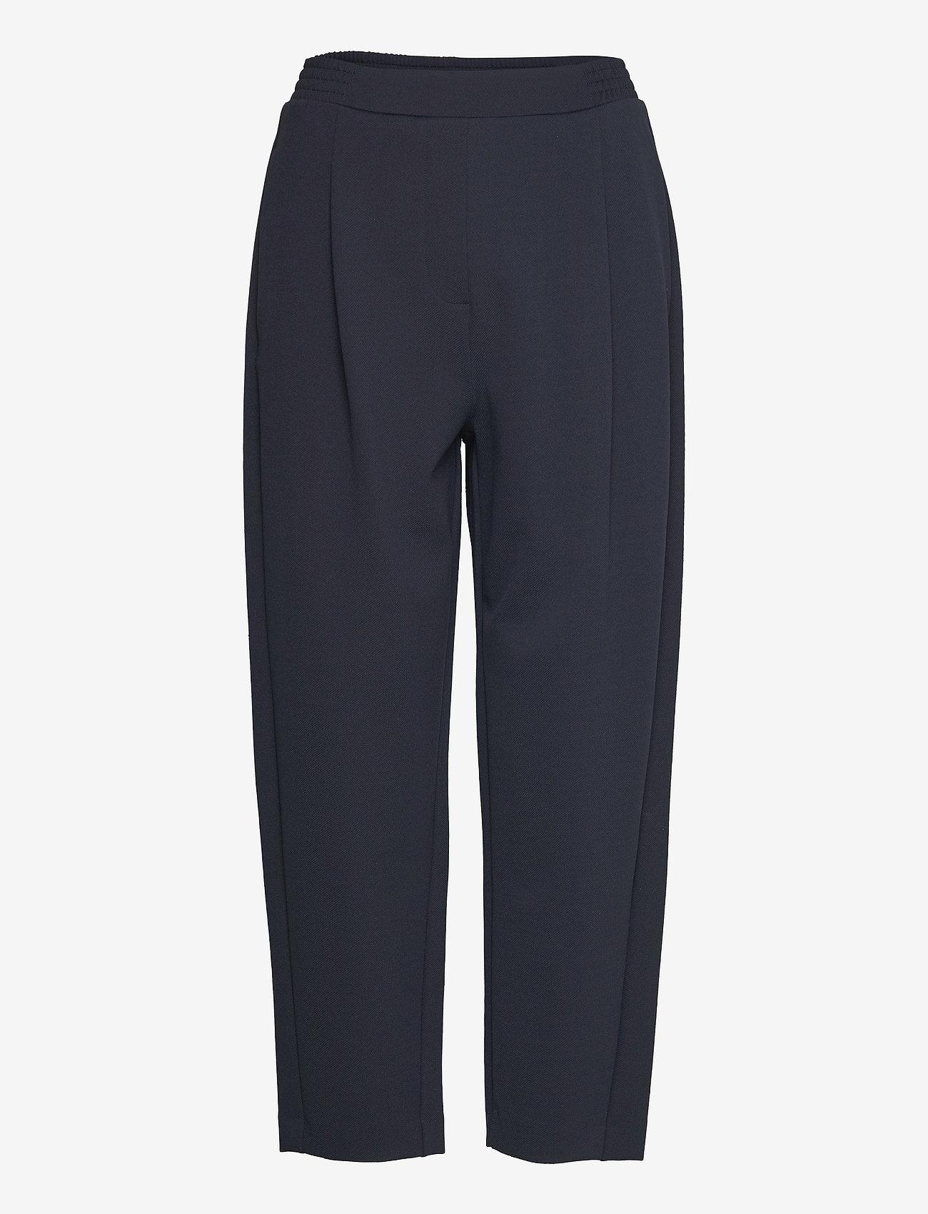 Max Mara Leisure - MILENA - wide leg trousers - navy - 0