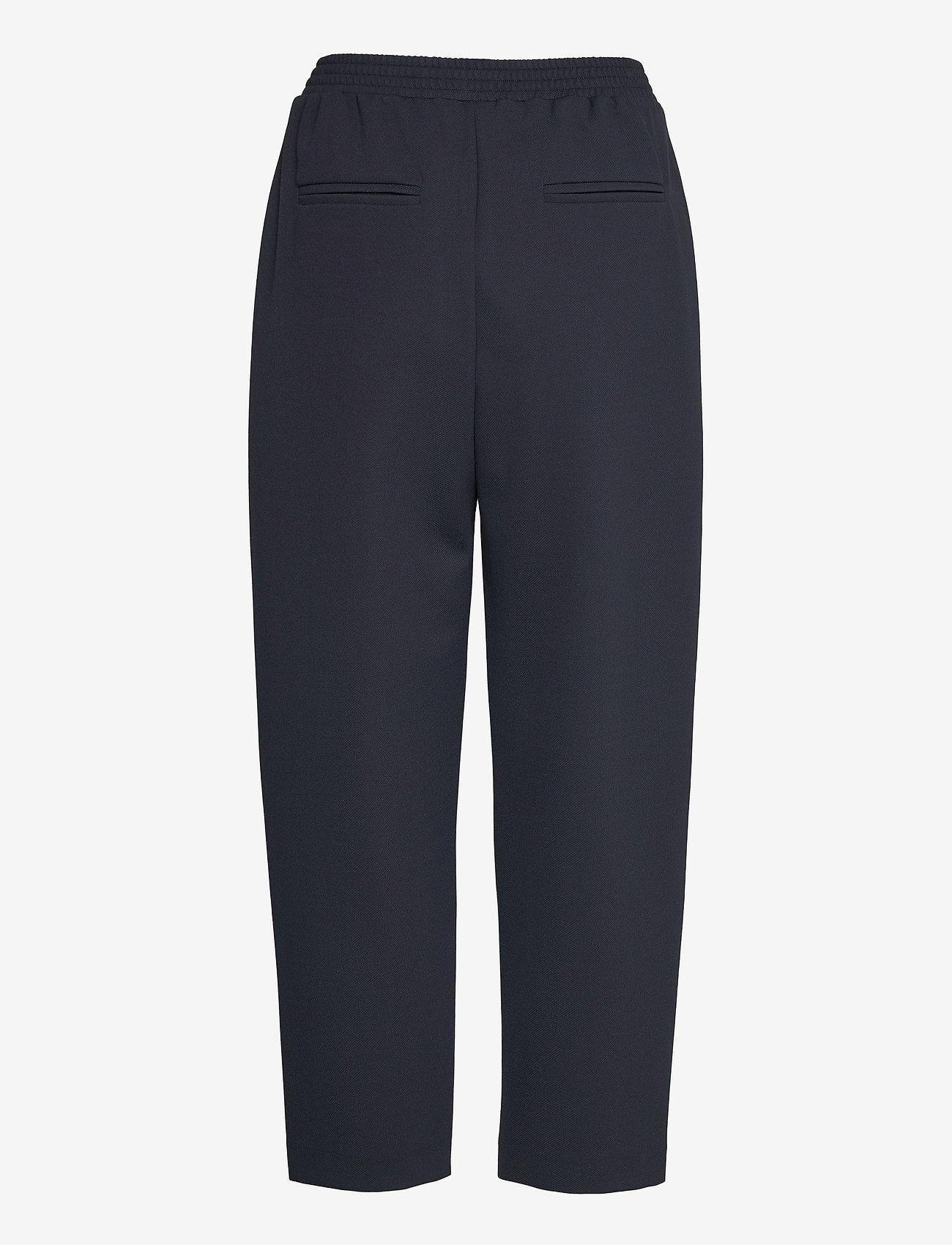 Max Mara Leisure - MILENA - wide leg trousers - navy - 1