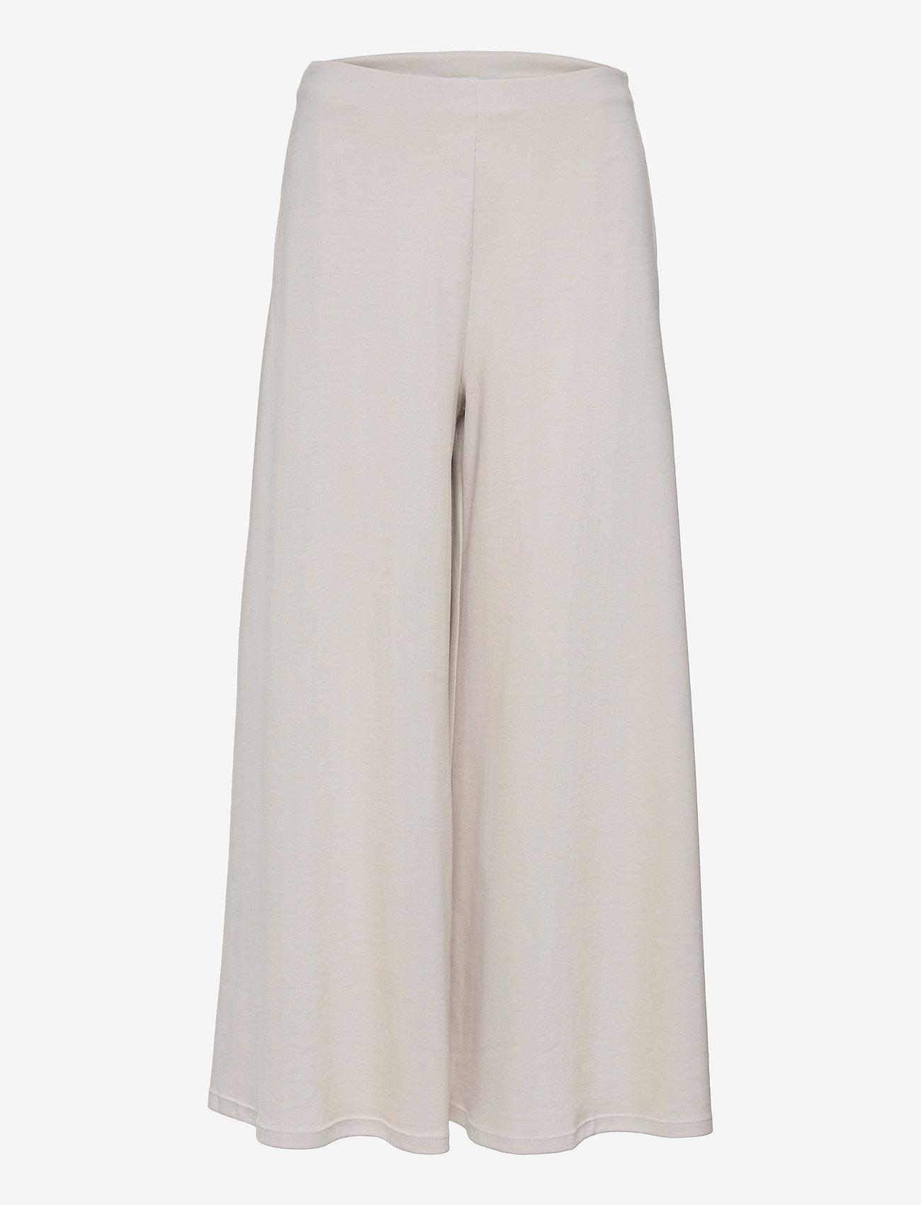 Max Mara Leisure - ESPERIA - wide leg trousers - beige - 0