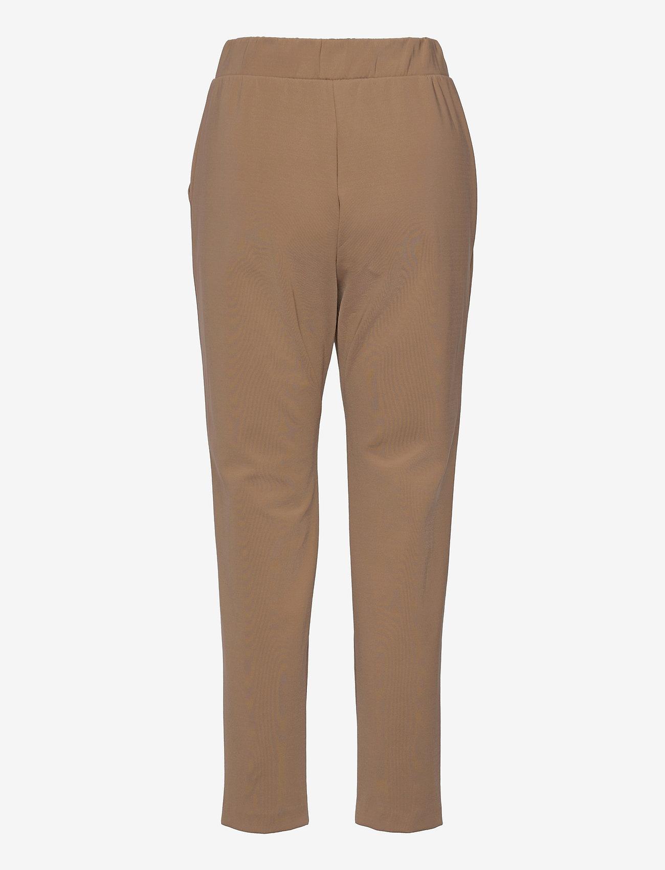 Max Mara Leisure - EMPOLI - straight leg trousers - camel - 1