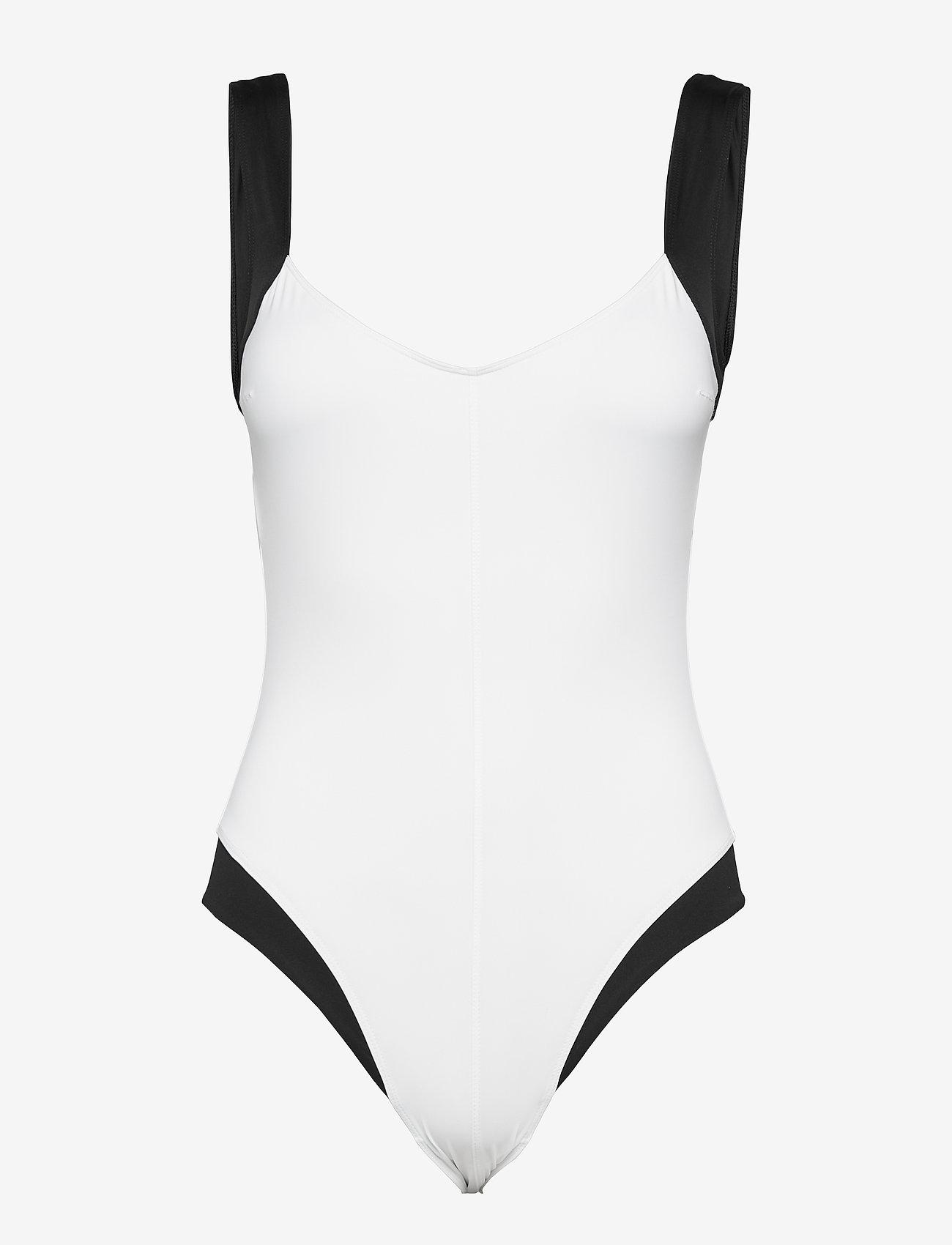 Max Mara Leisure - GERBA - swimsuits - optical white - 0