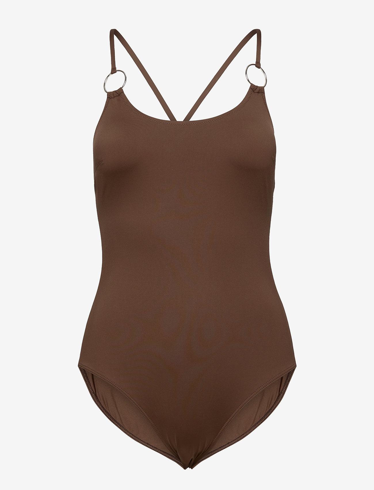 Max Mara Leisure - LAMPADA - swimsuits - brown - 0