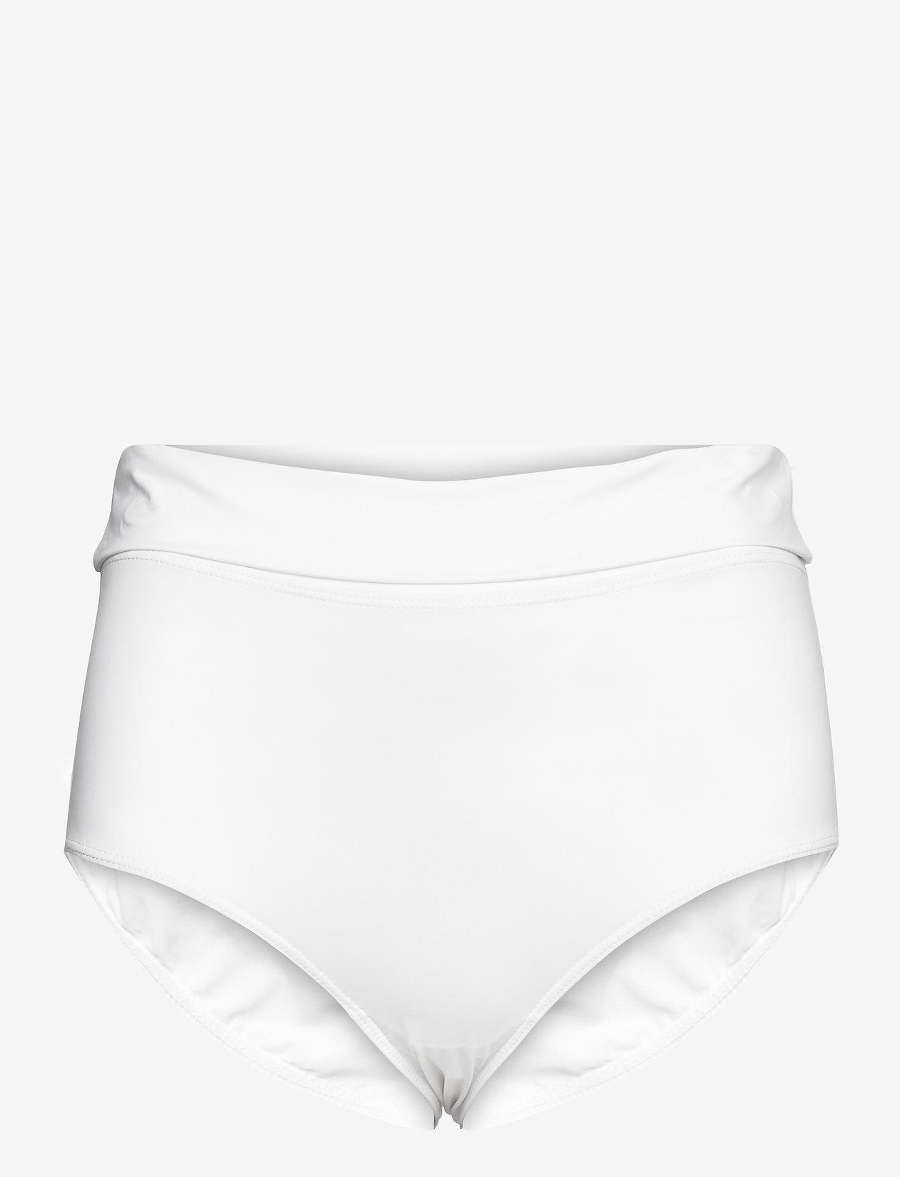 Max Mara Leisure - 2TAMIGI - high waist bikini bottoms  - optical white - 0